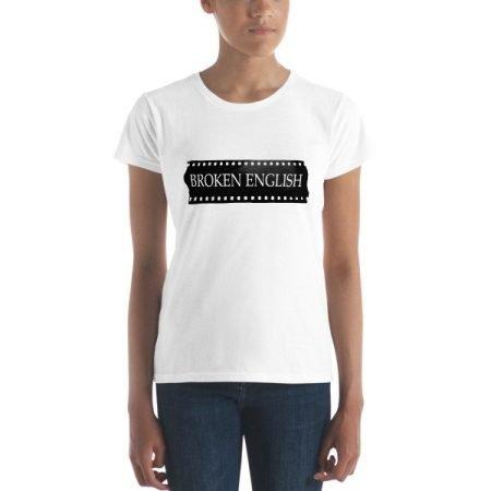Classic Women's Broken English short sleeved t-shirt